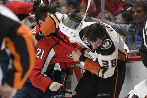 Capitals brace for Hathaway to be suspended for spitting