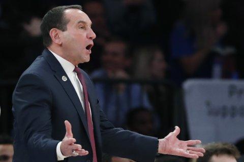 Krzyzewski gets milestone, Duke tops tough Georgetown in NYC