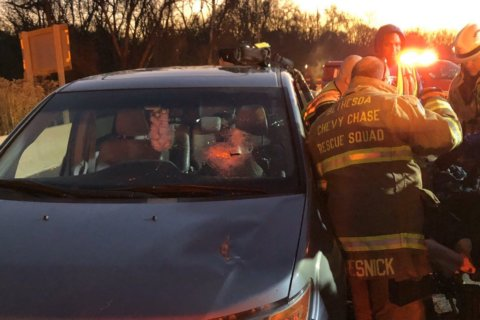 Nightmare on the Beltway: 'Metal stake' strikes driver on Outer Loop