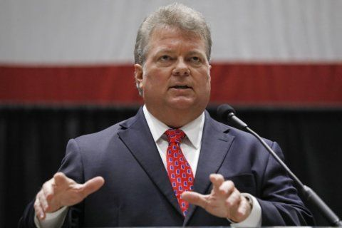 The Latest: Democrat concedes Mississippi governor's race
