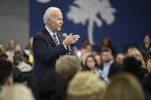 Biden files papers for South Carolina presidential primary