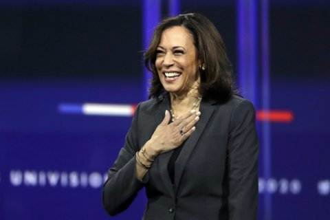 2020 hopeful Harris focuses on black women in South Carolina