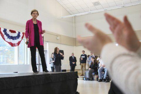 The Latest: Biden campaign faults Warren's health care math