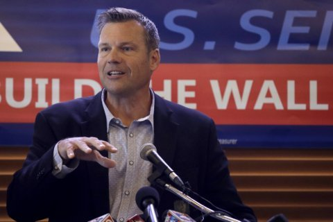Kobach's brand still sells with GOP in Senate race in Kansas