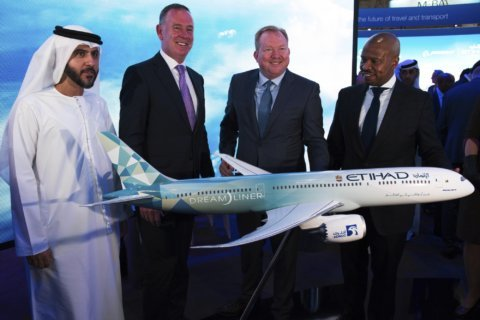 Tests on Boeing 'Greenliner' part of effort to cut emissions