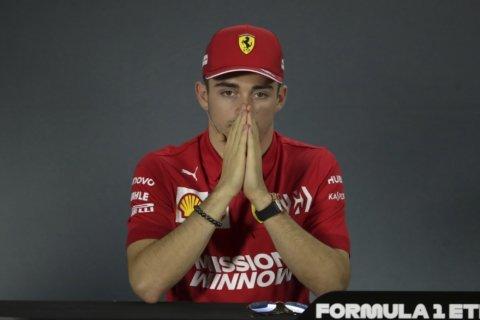 Ferrari's Leclerc pledges to behave better at Abu Dhabi GP