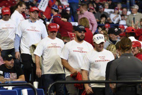 AP FACT CHECK: Trump's flawed 'read the transcript' defense