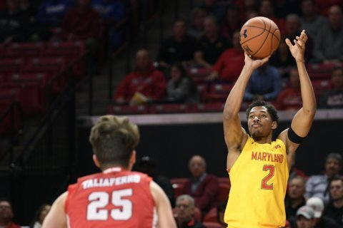 Smith scores 17 to help No. 6 Maryland beat Fairfield 74-55