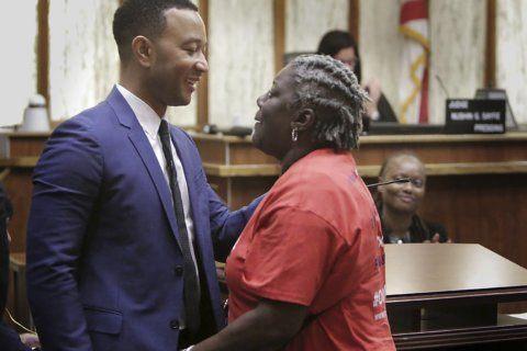 John Legend lends support as Florida felons get vote rights