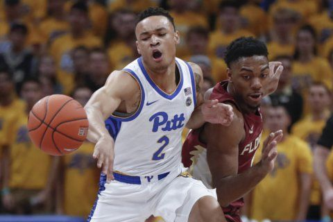 Pittsburgh slips past Florida State 63-61 in ugly ACC opener