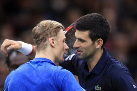 Imperious Djokovic wins 5th Paris Masters and 77th title