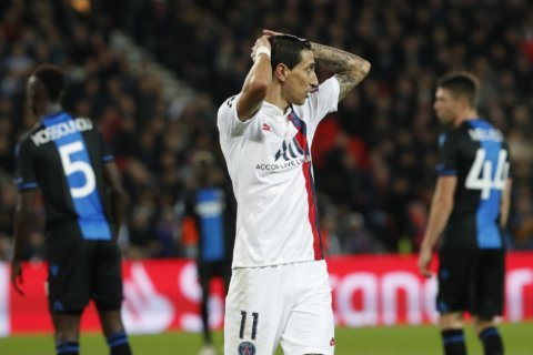 Icardi comes off bench to score PSG's winner at Brest
