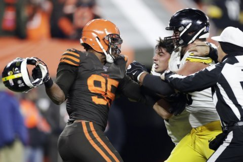 Sacked: NFL suspends Garrett, Browns' season in jeopardy