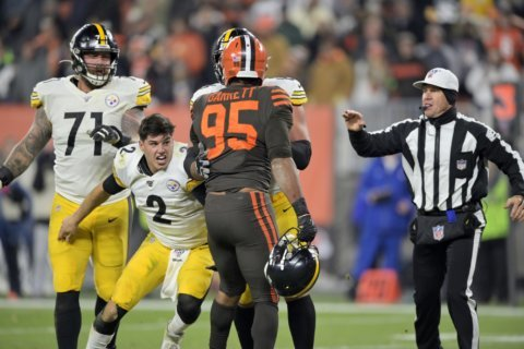 Steelers' Rudolph: 'No acceptable excuse' for role in brawl