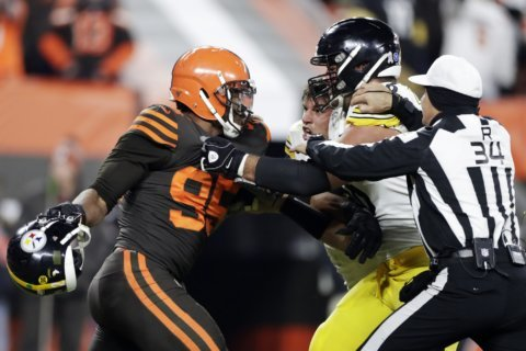 Browns' Garrett has suspension appeal set for Wednesday