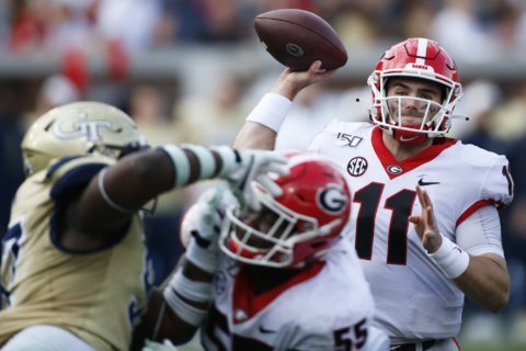 Injuries, ejection drain No. 4 Georgia for SEC title game