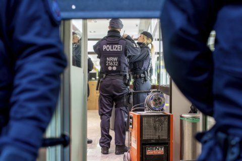 German authorities conduct money laundering raids