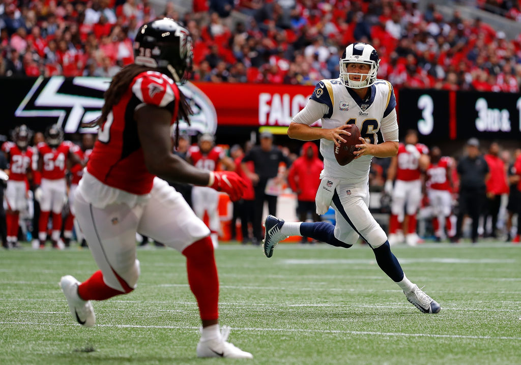 <div><b>Most Disappointing Player: Jared Goff</b></div> <div></div> <div>Goff gets the slight edge over Baker Mayfield because he&#8217;s actually done something relevant in this league, not just talk about it. Even though several big-name players on the Rams&#8217; roster have a hand in their slow start, Goff&#8217;s drop off from last year is pretty notable. His passer rating has plummeted from a career-high 101.1 in 2018 to a meager 86.8 this season. His completion percentage is down from 64.9 to 61.1, and he&#8217;s on pace to throw for 10 fewer touchdowns and two more picks than he did last season. The Rams fortunes improve only if Goff does down the stretch.</div> <div></div> <div><i>Honorable mention: Mayfield, Mitchell Trubisky</i></div>