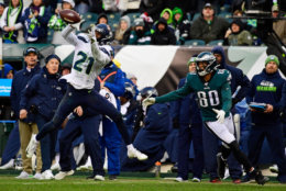 "<p><b><i>Seahawks 17</i></b><br /> <b><i>Eagles 9</i></b></p> <p>Philadelphia had a late run to make the playoffs last year, but apparently that magic left with Nick Foles. All that&#8217;s left is <a href=""https://profootballtalk.nbcsports.com/2019/11/23/nelson-agholor-denies-having-burner-account-that-rips-carson-wentz/"" target=""_blank"" rel=""noopener"">anonymously trashing Carson Wentz on Twitter</a> while he confounds anyone who clings to the belief he&#8217;s the same MVP-caliber player he was before he tore up his knee. This dude might have more in common with RG3 than just his draft position.</p>"