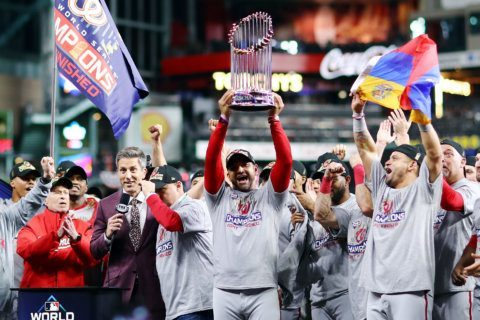 WATCH LIVE: After Nats parade, a rally for World Series champs