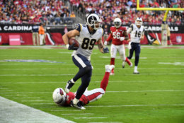"""<p><b><i>Rams 34</i></b><br /> <b><i>Cardinals 7</i></b></p> <p>If Arizona is trying to <a href=""""https://profootballtalk.nbcsports.com/2019/11/29/with-kyler-murray-cardinals-copying-ravens-blueprint-with-lamar-jackson/"""" target=""""_blank"""" rel=""""noopener"""" data-saferedirecturl=""""https://www.google.com/url?q=https://profootballtalk.nbcsports.com/2019/11/29/with-kyler-murray-cardinals-copying-ravens-blueprint-with-lamar-jackson/&amp;source=gmail&amp;ust=1575342523390000&amp;usg=AFQjCNGpV9TS90d68cmh3uwl9d1PUdIquA"""">replicate Baltimore&#8217;s blueprint</a> … well, it&#8217;s a really, really poor man&#8217;s version. Like, abject poverty.</p> <p>But the Rams offense — and Jared Goff in particular — finally looked like the unit that led L.A. to the Super Bowl last year. Feasting on the league&#8217;s worst pass defense is all well and good, but Goff and company need to have strong showings against the Seahawks, Cowboys and 49ers the next three weeks or else their season will be over before the Week 17 rematch with the Cardinals.</p>"""