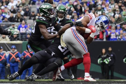 WR Slayton making most of rookie opportunity with Giants