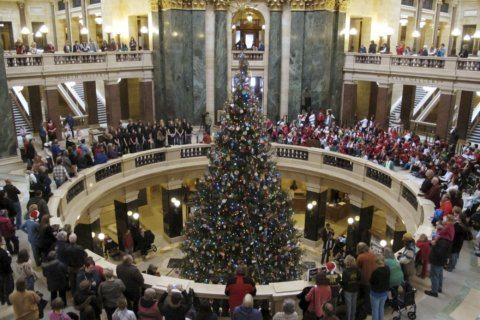 Wisconsin governor returns 'holiday tree' name to evergreen