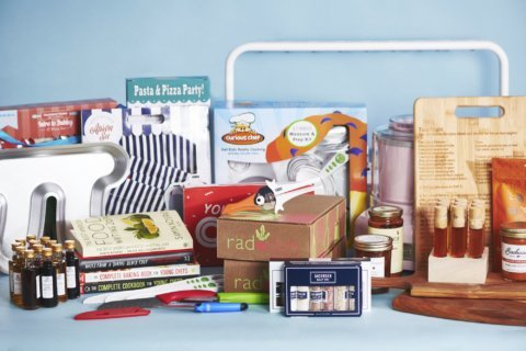 From kitchen tools to books, gifts for young chefs