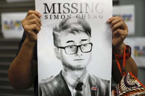 Hong Konger complains to UK about China TV forced confession