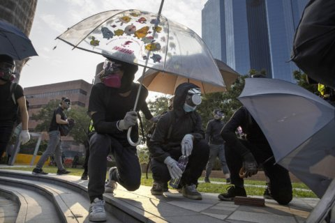The Latest: Australia deeply concerned by Hong Kong violence