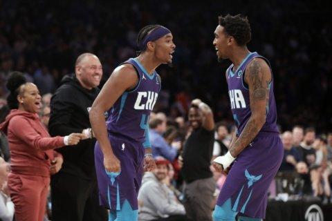 Hornets edge Knicks on Graham's 9th 3-pointer