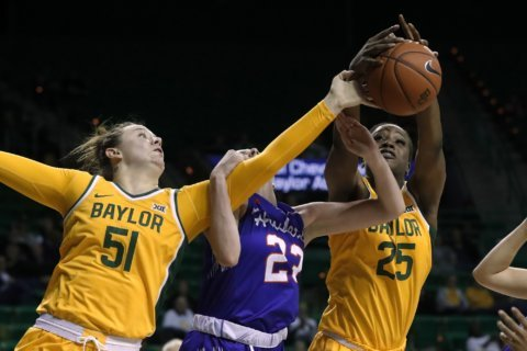 No. 2 Baylor women top Houston Baptist 112-42 without Cox