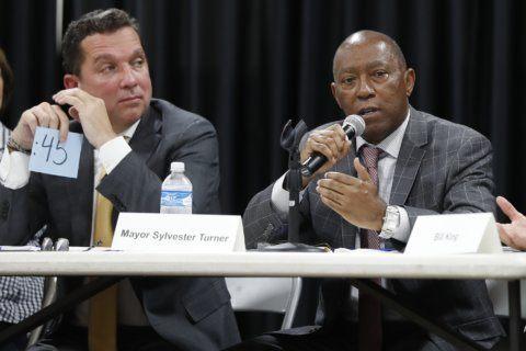 Millionaire outsider forces runoff in Houston mayor race