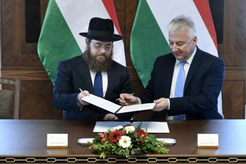 Hungary signs special agreement with Orthodox Jewish group