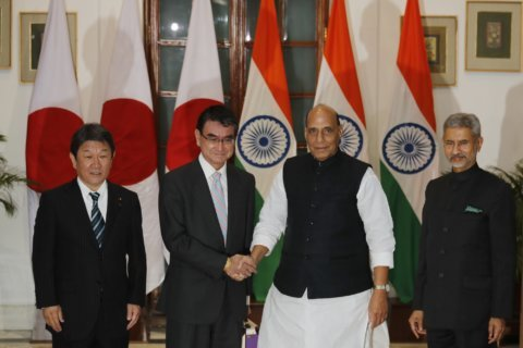 India and Japan hold inaugural security talks