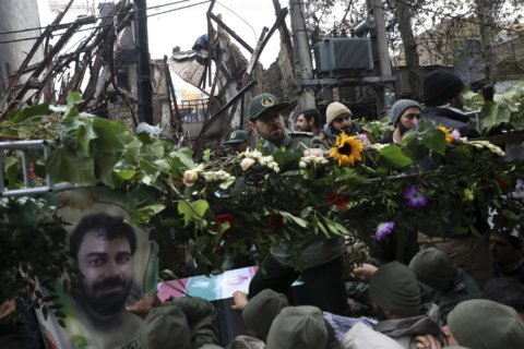 Iran blames deadly unrest on outsiders, including US