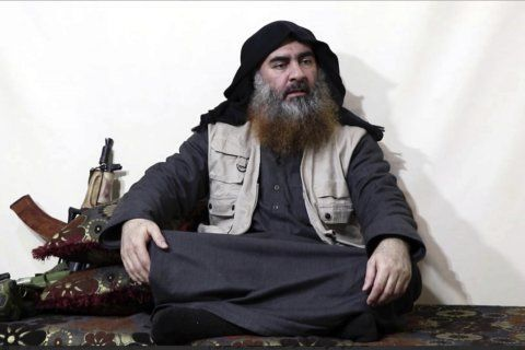 Trump says US on the hunt for new Islamic State's leader
