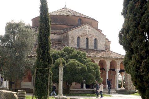 Ancient basilica on lagoon island hard hit in Venice flood