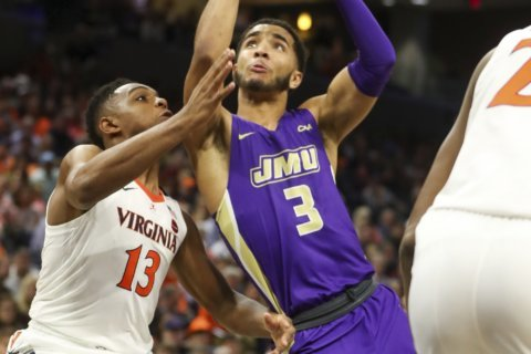 Sheffield leads Elon past James Madison 82-73