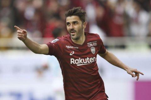 Spanish striker David Villa set to retire from Japan club