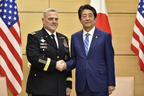 Japan, US say 3-way ties with S. Korea are key to security