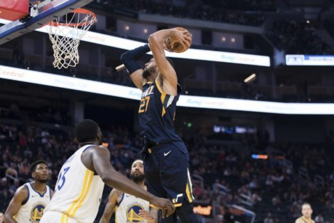 Gobert goes for 25 and 14 as Jazz beat frustrated Warriors