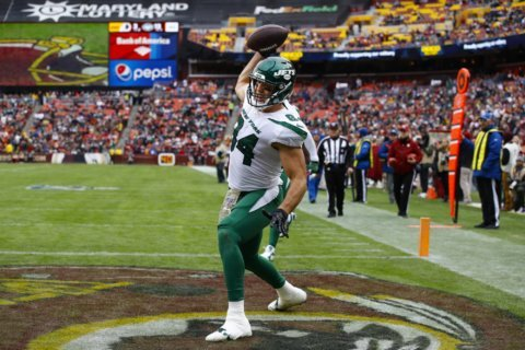 'Sticky Hands' Griffin becoming dependable target for Jets
