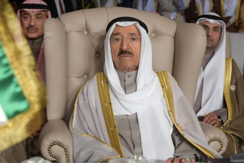 Kuwait's ruler fires son over feud with fellow minister