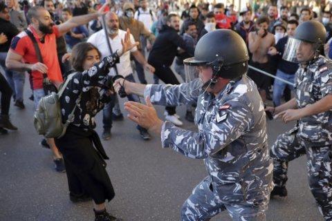 Protests force Lebanon-NKorea game into empty stadium