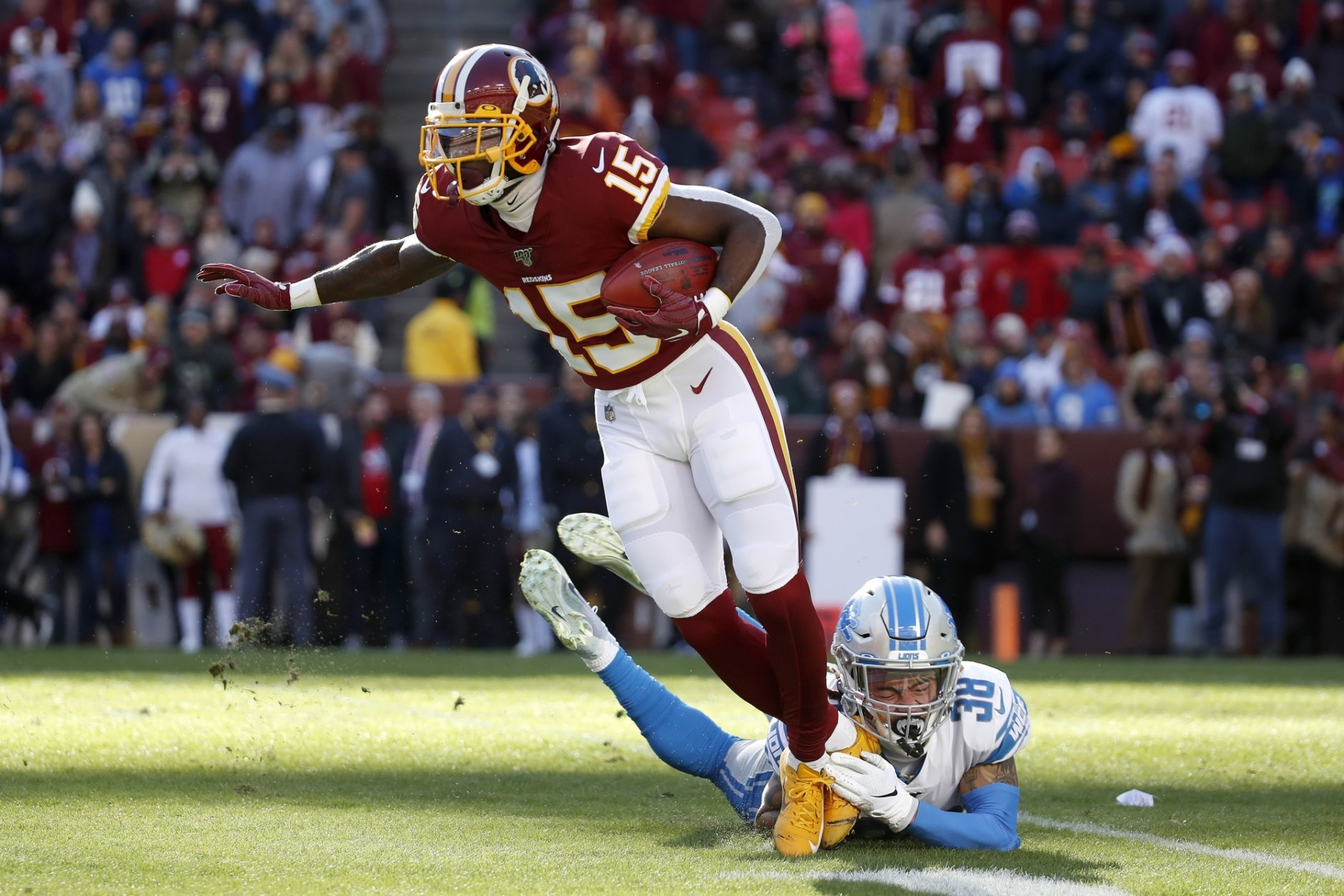 Redskins Come Back To Beat Lions Haskins Misses Final Snap Wtop