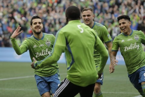 Sounders claim 2nd title in 4 years, beating Toronto FC 3-1