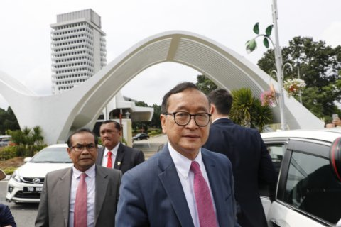 Rainsy: EU trade move to bolster bid for Cambodian democracy