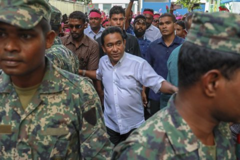 Former Maldives president sentenced to 5 years in prison