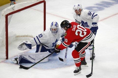 Kane, Lehner lead fast-starting Blackhawks past Maple Leafs
